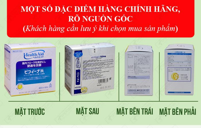 phân biệt Men vi sinh tiêu hóa Binifa cao cấp TC015 1