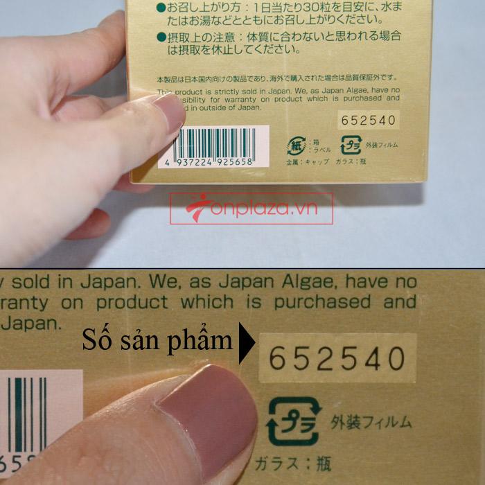 Tảo xoắn spirulina Nhật Bản 2200V TC002 5
